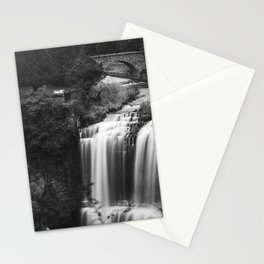 A river falls Stationery Cards