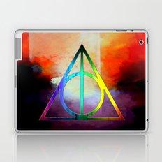 death hallow logo Laptop & iPad Skin