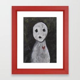 Portraits of Ghosts #4 Framed Art Print