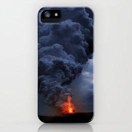 Kilauea Volcano at Kalapana 4 iPhone Case