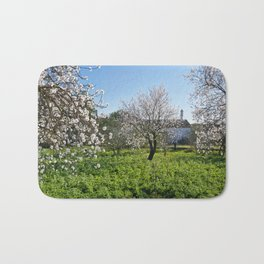 Almond trees in Portugal Bath Mat