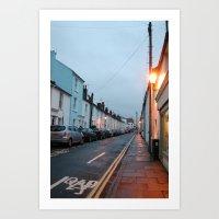 Brighton Street Art Print