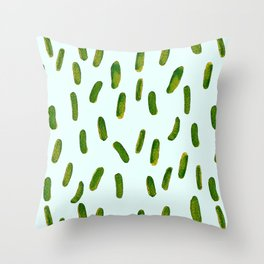 Pickles Throw Pillow
