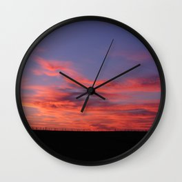 Living Skies Wall Clock