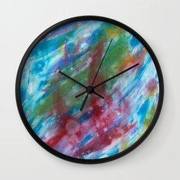 Red Fish Wall Clock
