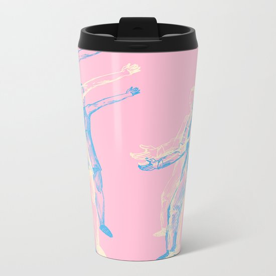 We Can Dance If We Want To Metal Travel Mug