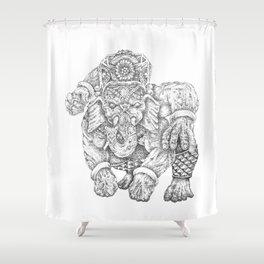 Ganulk Shower Curtain