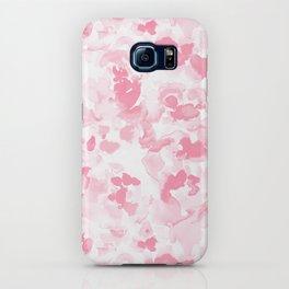 Abstract Flora Millennial Pink iPhone Case
