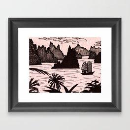 Halong Bay, Vietnam Framed Art Print