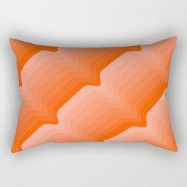 Coral Wave Rectangular Pillow