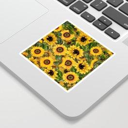 Vintage & Shabby Chic - Noon Sunflowers Garden Sticker