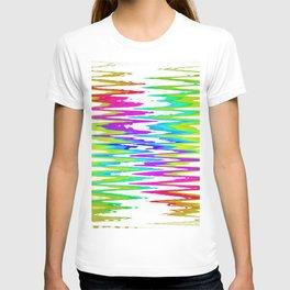 Rainbow rhombus T-shirt