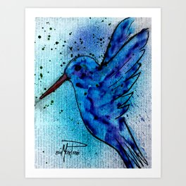In Flight 2 Art Print