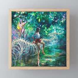 Dopamine Jungle Framed Mini Art Print