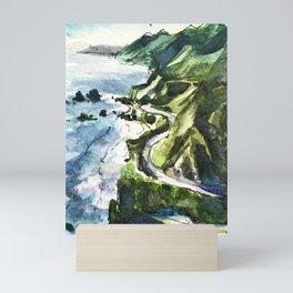 California Coast Big Sur USA Mini Art Print