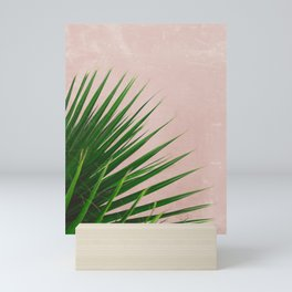 Summer Time | Palm Leaves Photo Mini Art Print