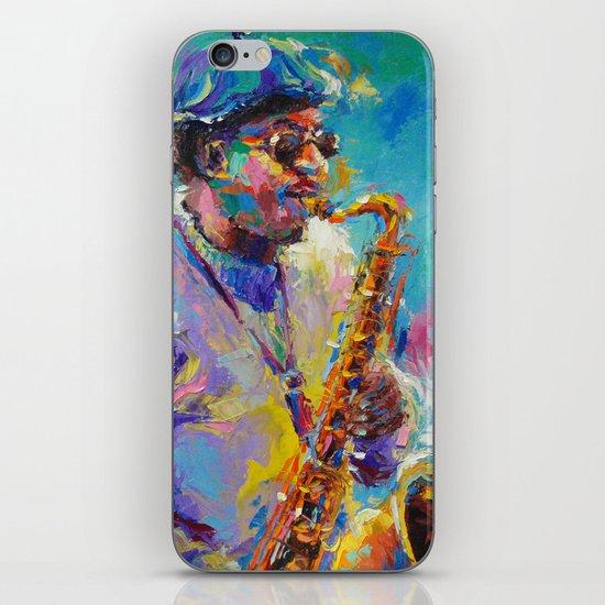 Soulful Charles iPhone & iPod Skin