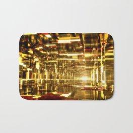 Golden Tunnels Bath Mat