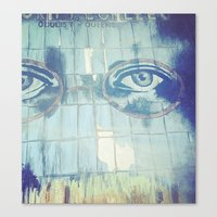 gatsby Canvas Prints featuring Gatsby by Kayleigh Kirkpatrick