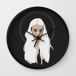 Woman as Element - Air Wall Clock