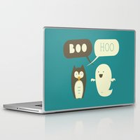 dead Laptop & iPad Skins featuring Boo Hoo by AGRIMONY // Aaron Thong