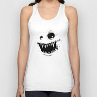 monty python Tank Tops featuring Monty by Nicholas Ely