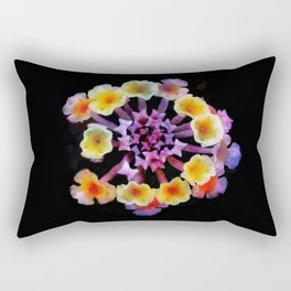 Camara flower - natural mandala Rectangular Pillow