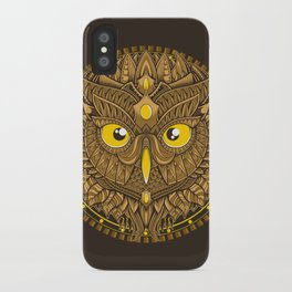 Autumn Circle iPhone Case