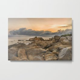 Stones, Ocean and Heaven Metal Print