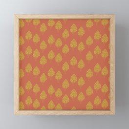 Tree Pattern Framed Mini Art Print