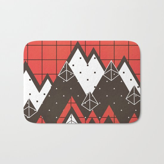 Moutains 2 Bath Mat