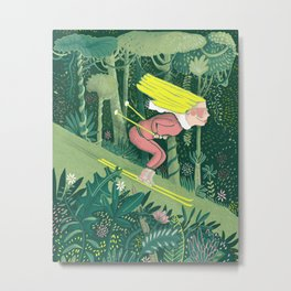 Spring in the jungle Metal Print