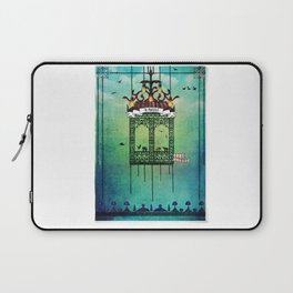 travelling with elephants Laptop Sleeve