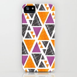 Triangles 1 iPhone Case