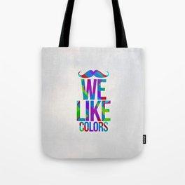 C O L O R S. Tote Bag