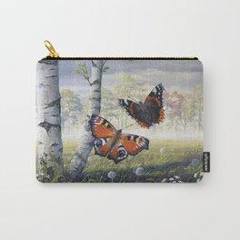 Dancing Butterflies Carry-All Pouch