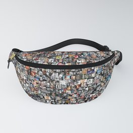 Norma Jean M Monroe Pin Up Girl Collage Fanny Pack