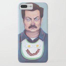 Ron Swanson iPhone Case
