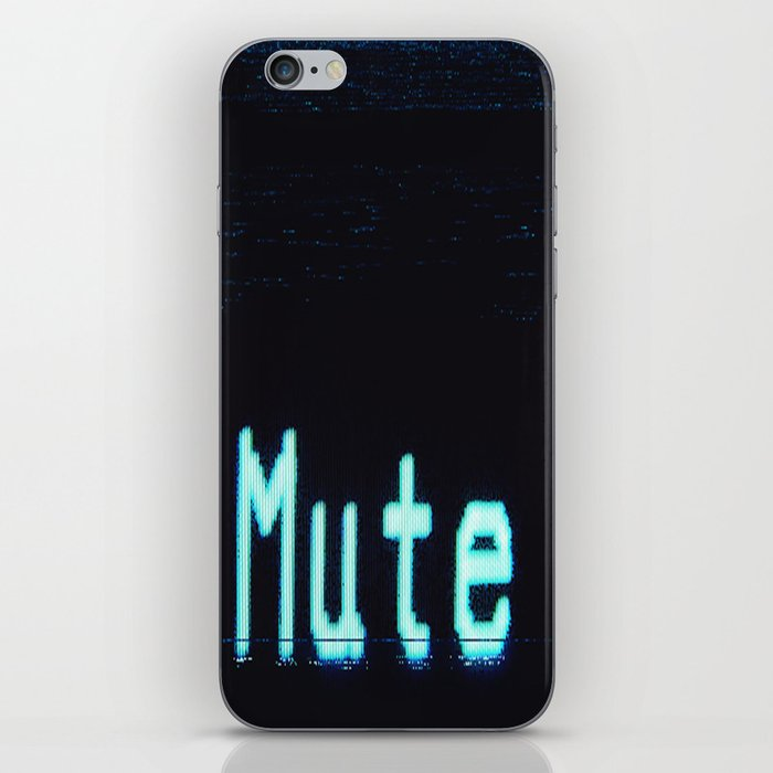 mutesort iPhone Skin