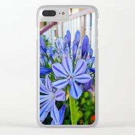 Cottage Garden Clear iPhone Case