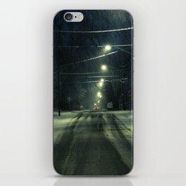 Stormy Winter iPhone Skin