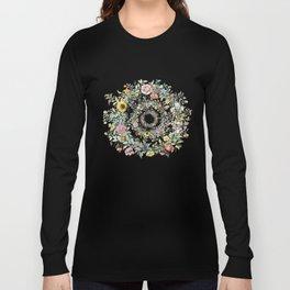 Circle of life- floral Long Sleeve T-shirt