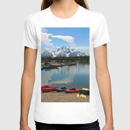 Beautiful Summerday At Colter Bay T-shirt
