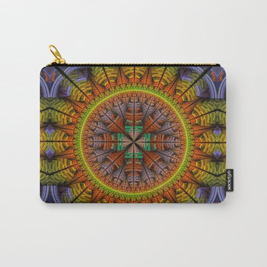 Groovy tribal pattern star Carry-All Pouch