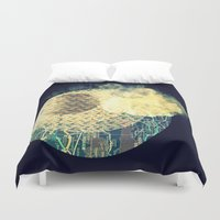 atlas Duvet Covers featuring Atlas Planet by Jasmine Smith