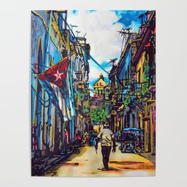 Havana, CUBA No.2 | 2015 Poster