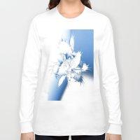 angel wings Long Sleeve T-shirts featuring Angel Wings by Brian Raggatt