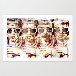 Visit Palm Springs Art Print