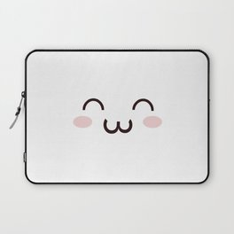 Cute Kawaii Emotion :3 (Check Out The Mugs!) Laptop Sleeve
