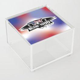 WWGKW Logo - Red, White & Blue Acrylic Box